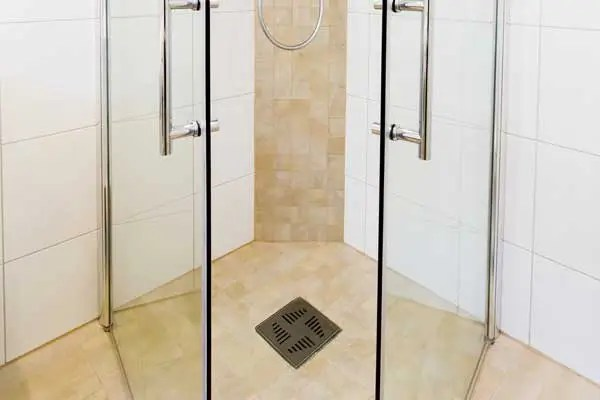 Shower Floor and Drain