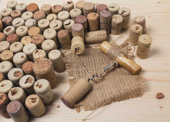 Corkscrew and Cork Bottle Stoppers