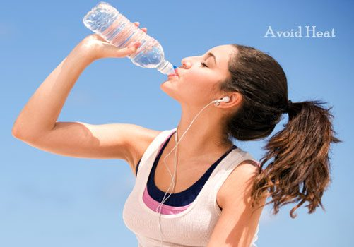 Avoid Heat to Get Rid of Greasy Hair