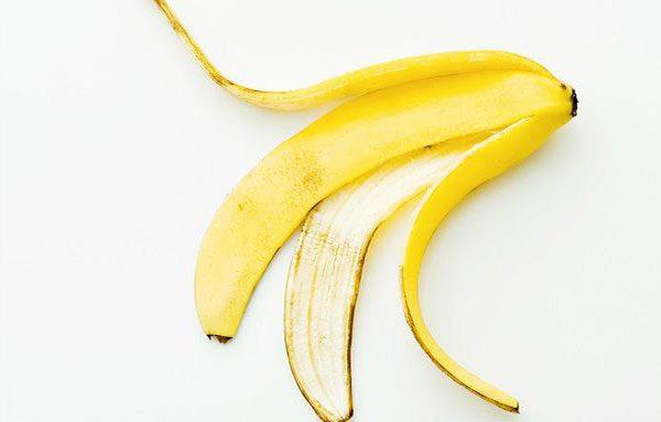 Banana peels  for teeth whitening fast