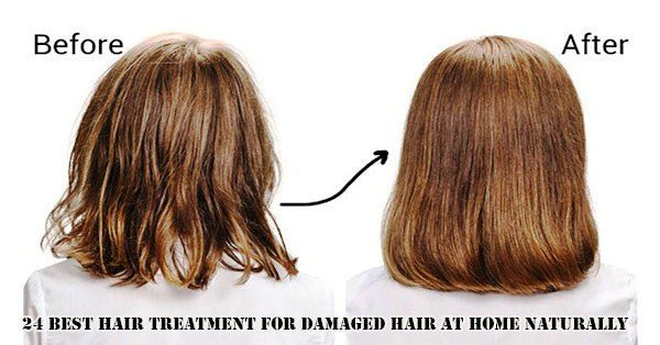 Best Hair Treatment For Damaged Hair At Home