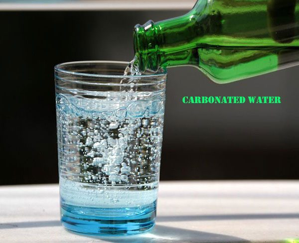 Carbonated water frizzy hair home remedies