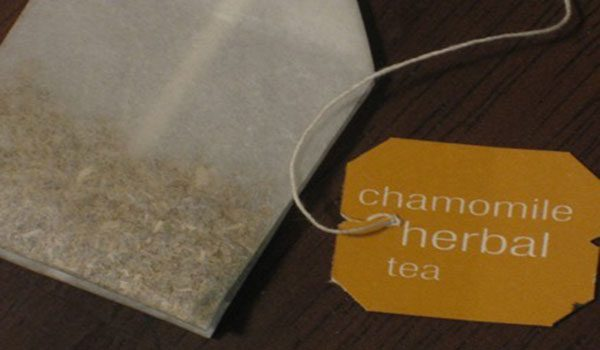 Chamomile Tea Bag uses Canker Sores In Mouth