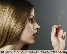 How to Get Rid of Split Ends at Home Fast Overnight
