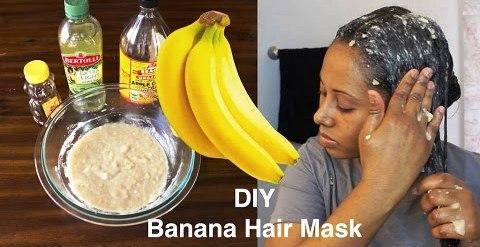 Use of Banana mask