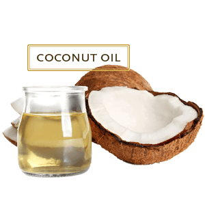 Coconut oil  for teeth whitening at home