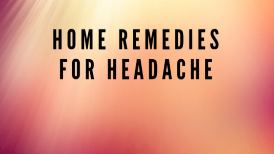 Home-remedies-for-headache