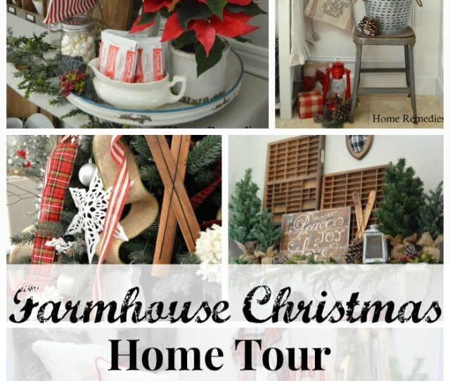 A Cozy Farmhouse Style Holiday Home Tour Homereme Srx Com