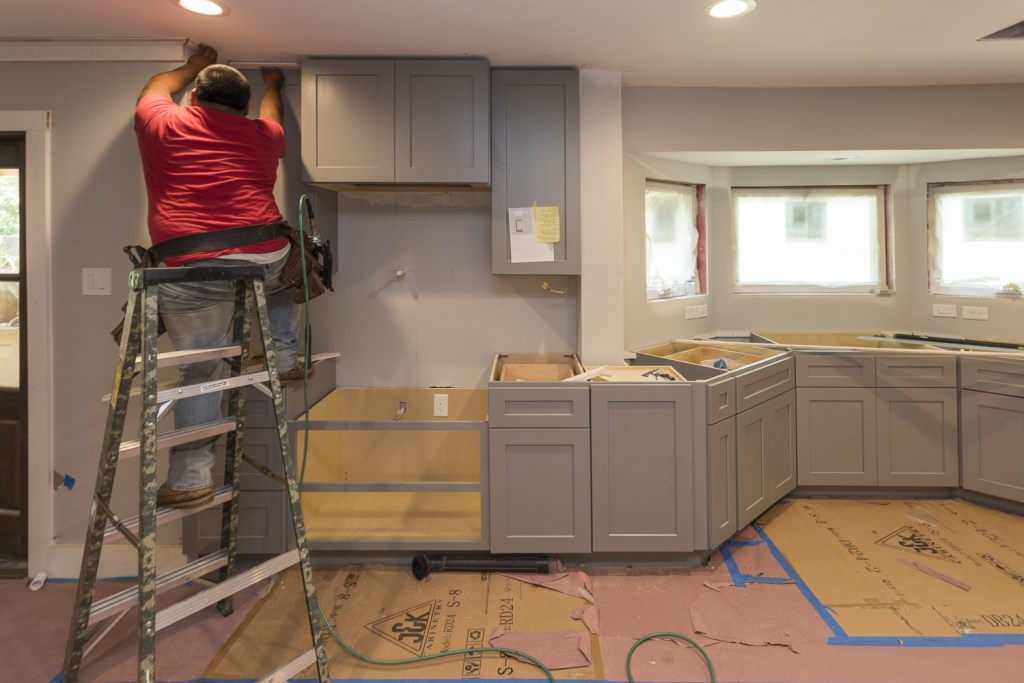 A kitchen remodel doesn't have to cost and arm and a leg!