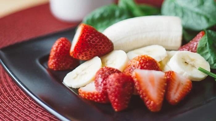 Bananas e morangos