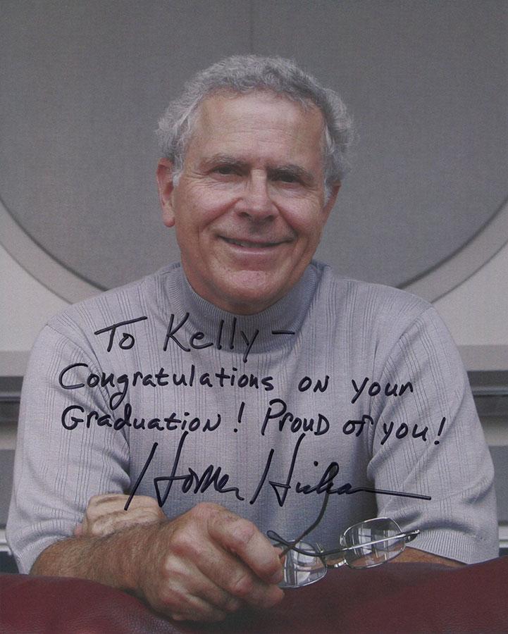 Autographed Homer Hickam 8 X 10 Photograph Homer Hickam