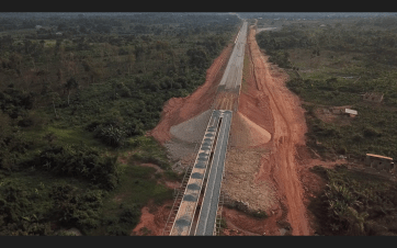 Directly Facing The New Lagos/Ibadan Rail Line