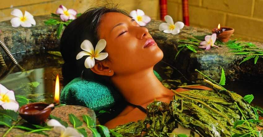 Spa massage in Homes Bungalow Kandy