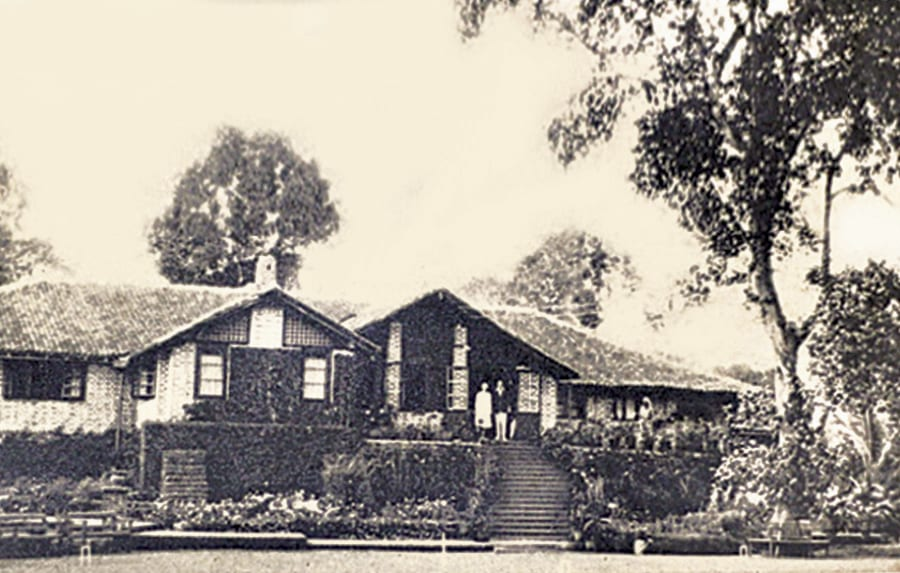 Homes Bunglow during early 1900s