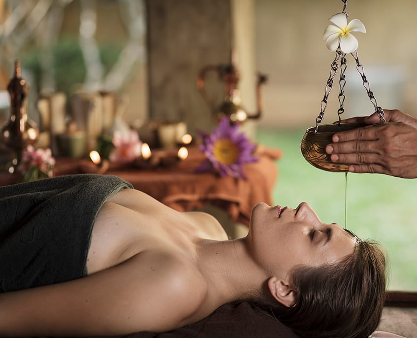 Ayurvedic treatments offered by Homes Bungalow kandy