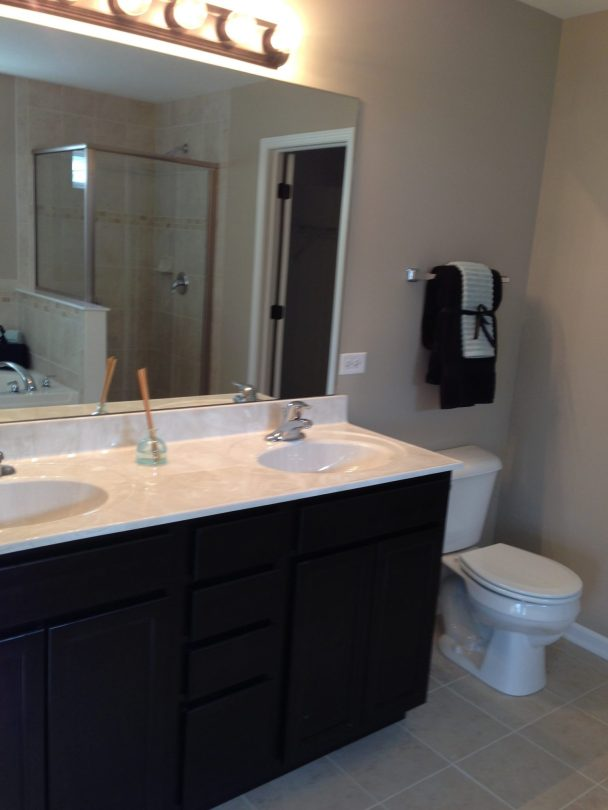 Home Builders Joliet, IL - Cambridge Master Bath 1