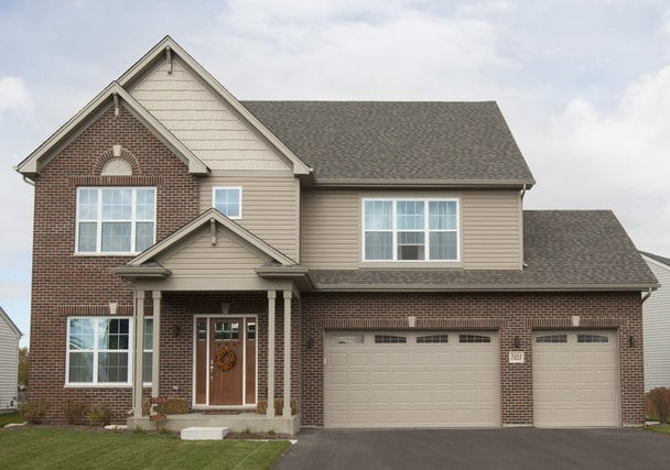 New Constructions Homes in Joliet, IL - Camden Elev C