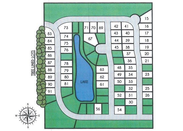 Whispering Oaks Map