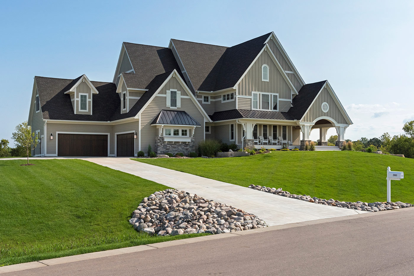 Custom Home Builders & New Home