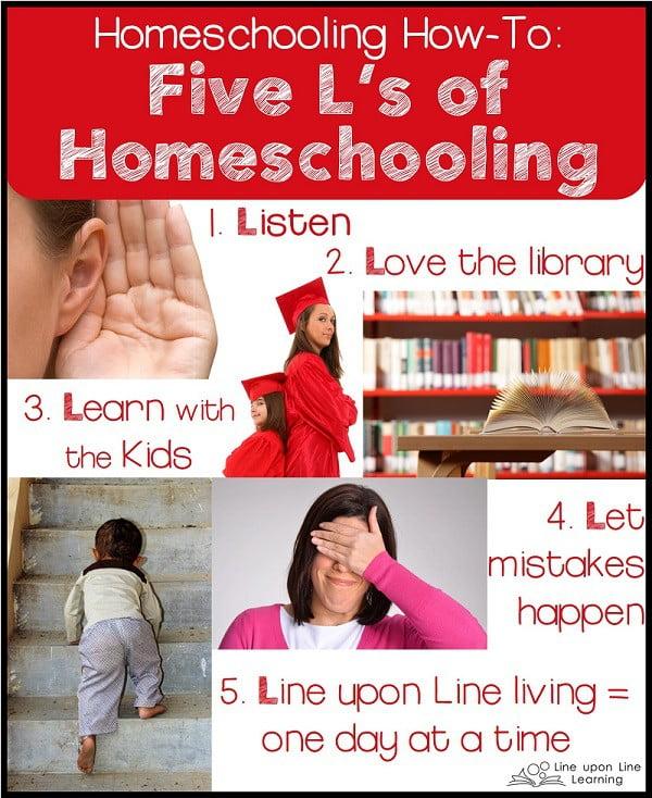 5ls of homeschooling