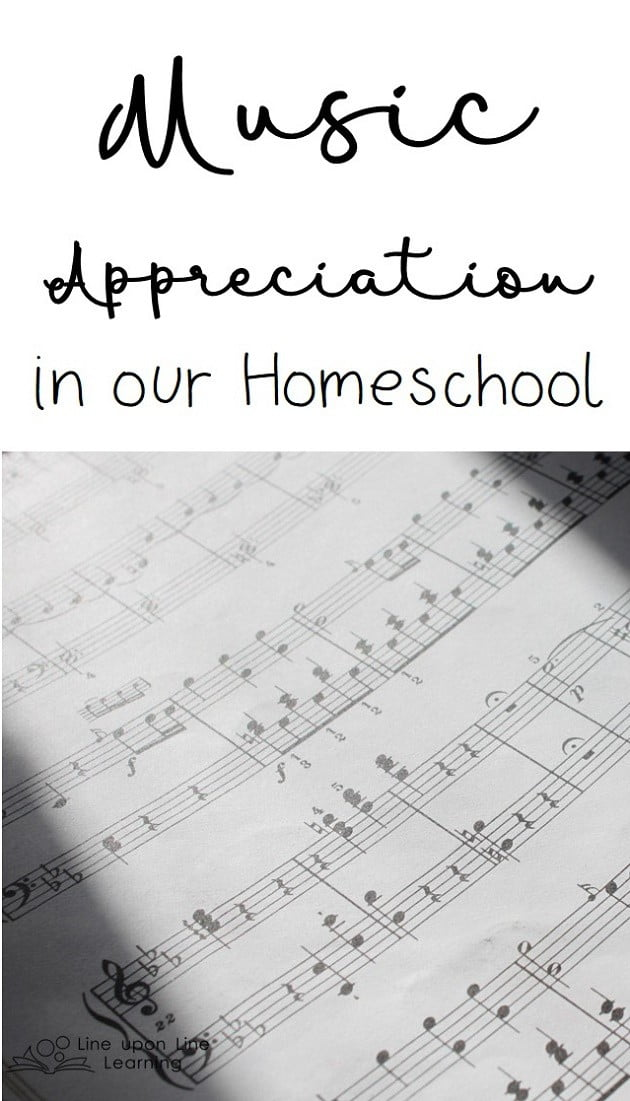 By listening to the classic greats and studying musical theory, I'm able to provide a simple course in music appreciation to my elementary schooler!