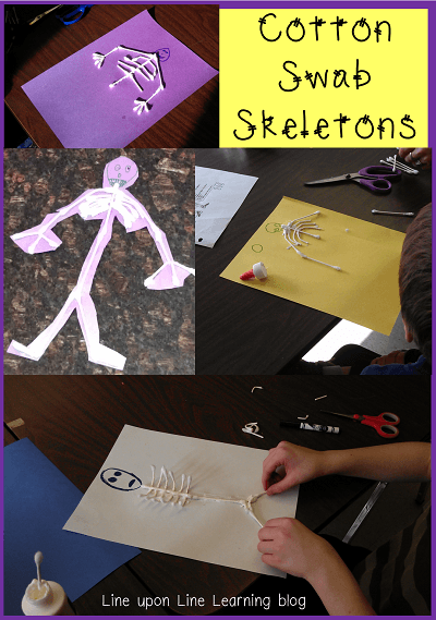 Cotton Swab Skeletons