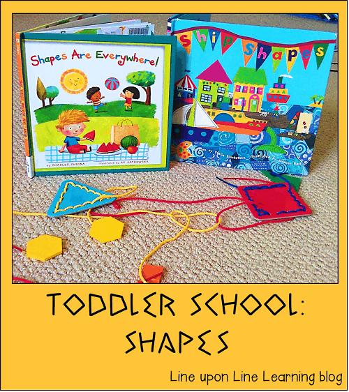 toddler school shapes