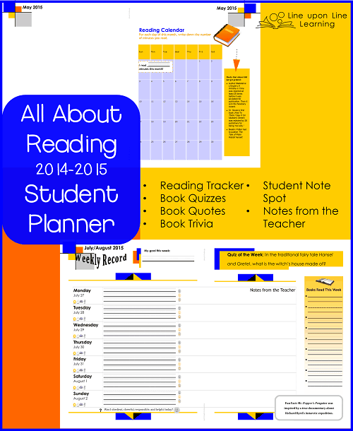 planner sample pages