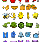 Rainbow items from Line Upon Line Learning