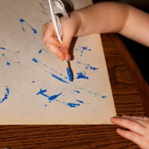 Quill Painting