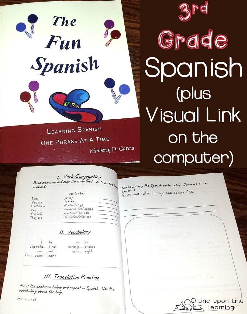 Third Grade Spanish for Homeschool