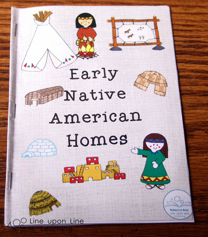 The Early Native American Homes booklet shares some details about the homes early residents of North America lived in, and how those homes reflected the environment in which they were built.