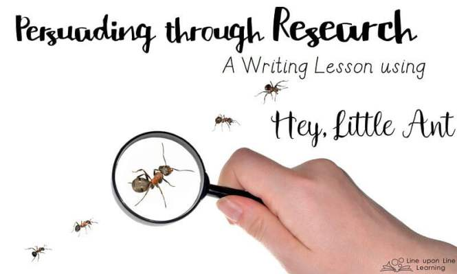 Hey Little Ant I Had Them Write Letters To The Ant Bully Persuading Him Not Step On Click Picture Above Snag Writing Activity