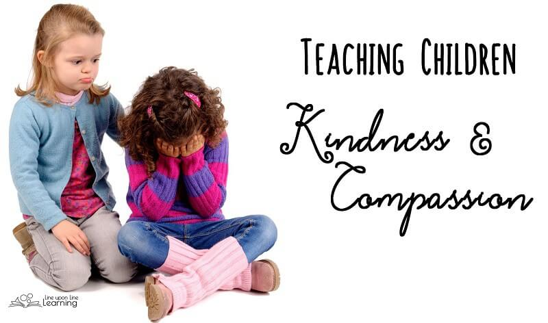 Sometimes our kids need us to help them notice those in need of kindness and compassion.