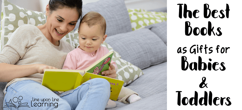 Don't hesitate to give books as gifts to babies and toddlers. Being surrounded by books has provided her with a nice foundation in literacy.