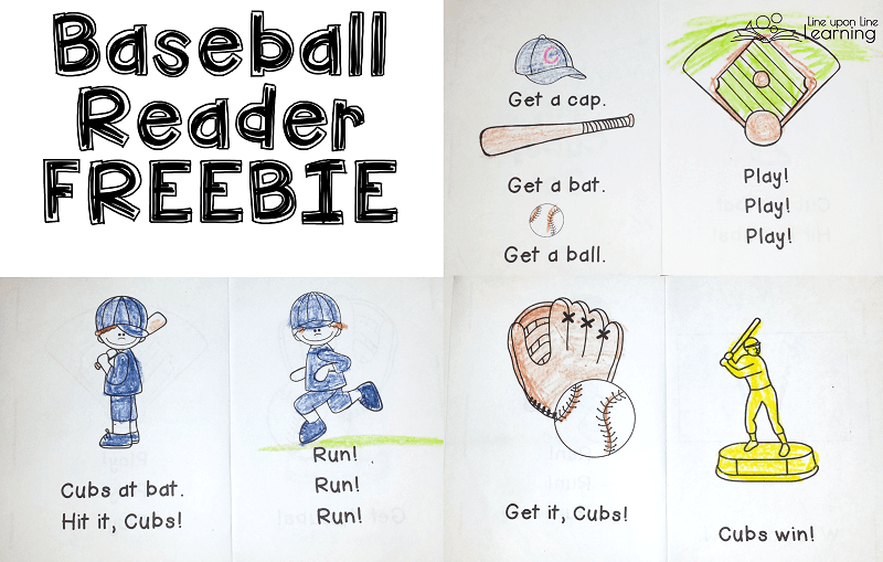 Read about the Cubs winning a baseball game in this fun early reader!