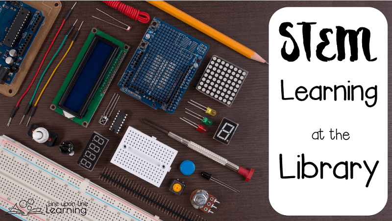 There are many ways to learn about science, technology, engineering, and mathematics at the library, other than reading books!