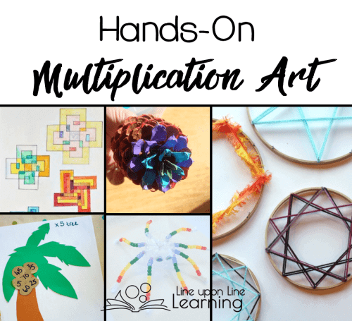 Make art with these hands-on multiplication review crafts.