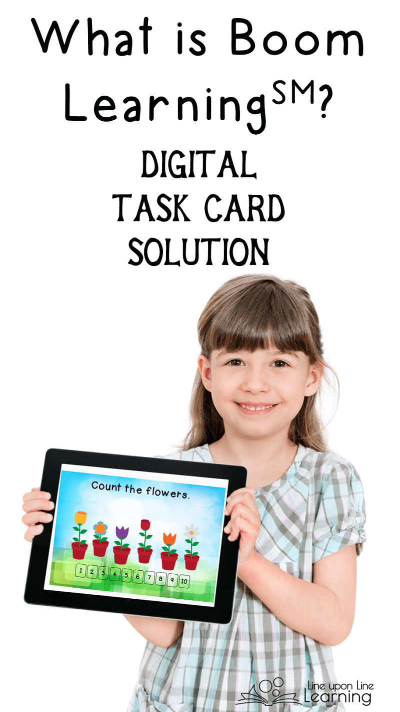 Boom Learnibg provides digital task cards to provide digital learning tools to students of all ages.
