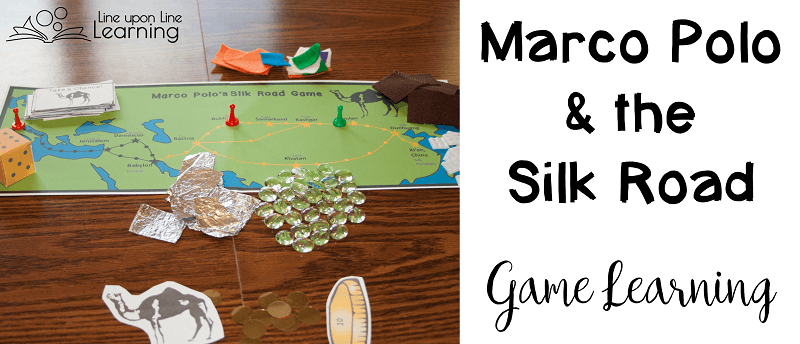 Learn about ancient trade routes with the Marco Polo Silk Road Game.