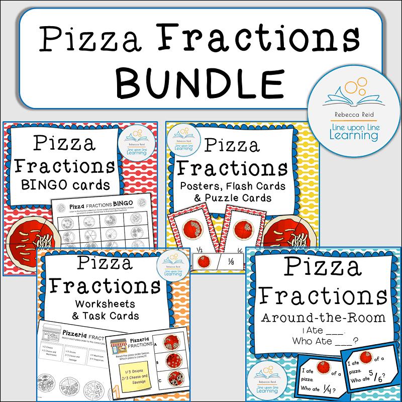 BUNDLE Pizza Fractions COVER
