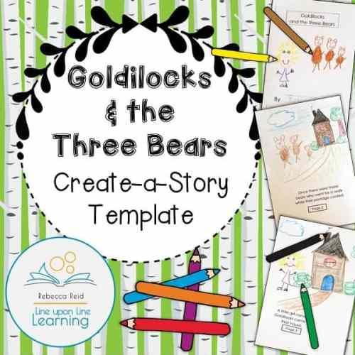 Goldilocks Create a Story COVER