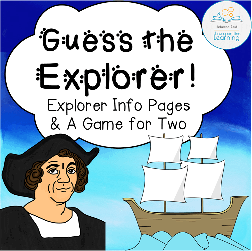 Guess the explorers COVER