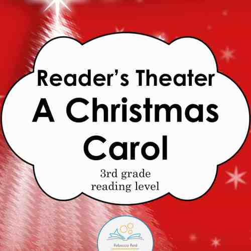 christmas carol readers theater COVER