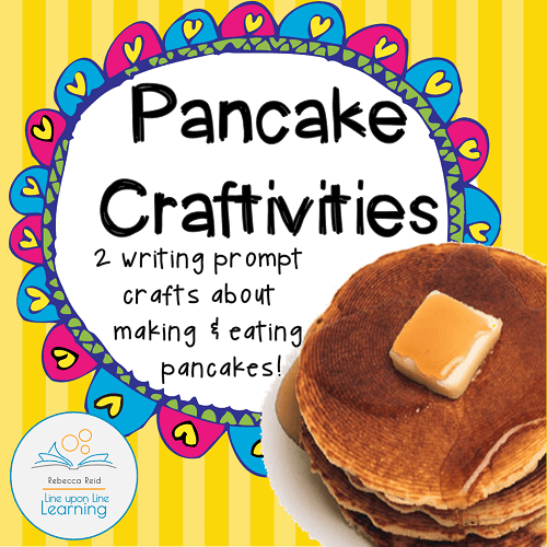 pancake craftivity cover