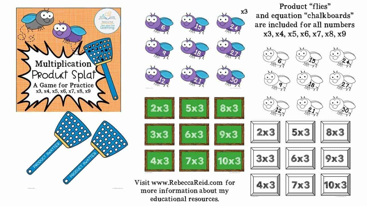 multiplication product splat DEMO