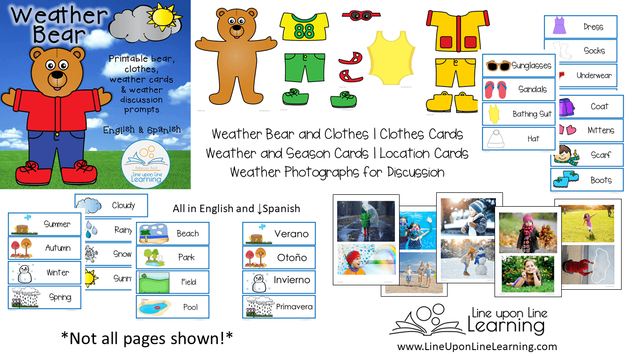 weather bear demo page