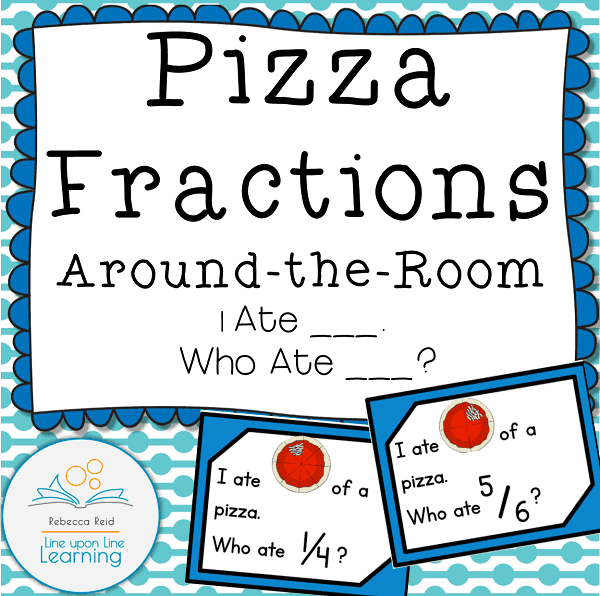 pizza fraction around the room COVER