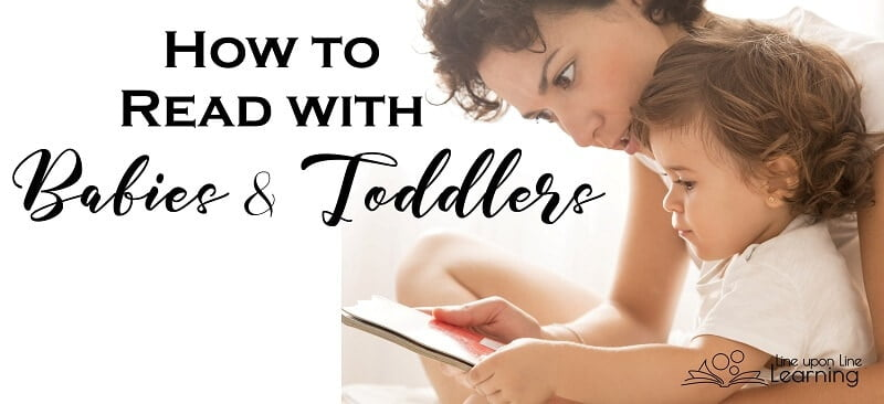 Reading with babies and toddlers is not always easy but the end rewards definitely make it worth it!