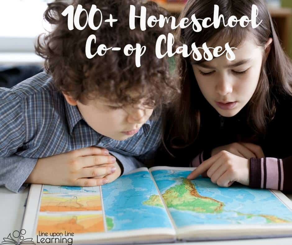 Homeschool co-op classes help give the parent a break, but they also allow students to learn to work in teams in a way that cannot easily be replicated alone at home. Here are great homeschool class ideas to help you brainstorm what you could teach.